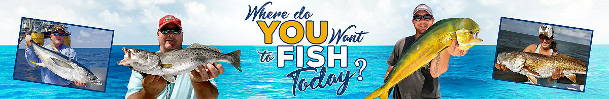 Where do you want to Fish today? See our GPS Fishing Spots and Fishing Maps